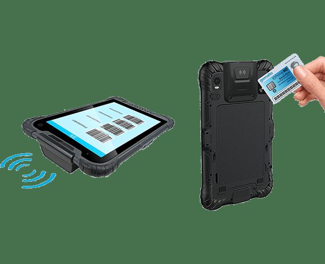 UA-80 RFID and UHF Reader Tablet
