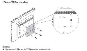 VESA Panel PC Mounting