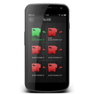 RV Control System Phone App
