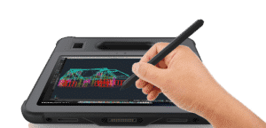 Rugged Tablet Screen With Digitizer Pen