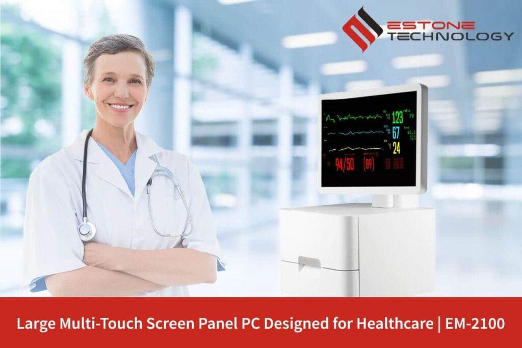 EM-2100 Large Multi-Touch Screen HealthcarePanel PC