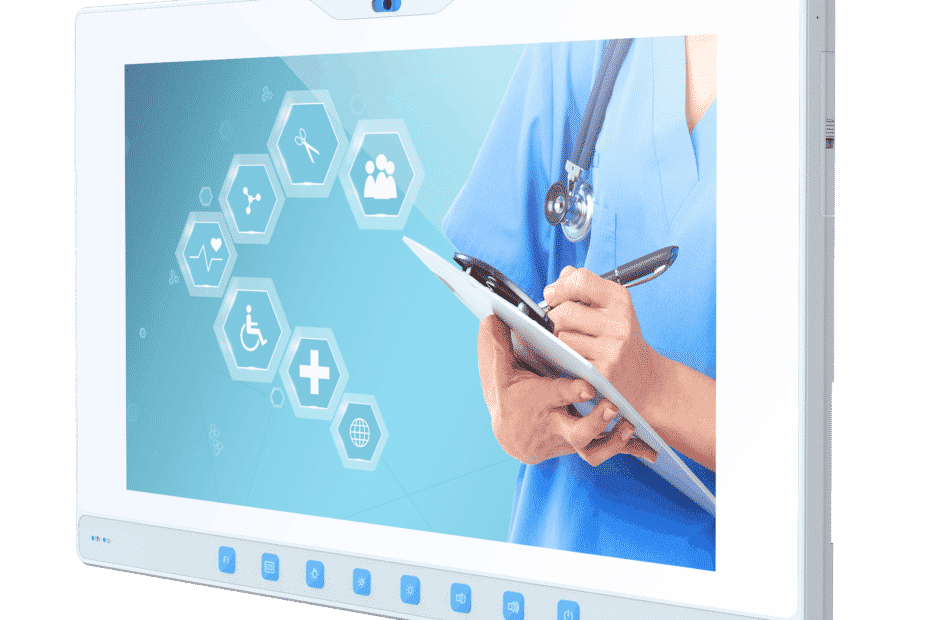 Antimicrobial Coating on Medical Tablets and Panel PCs