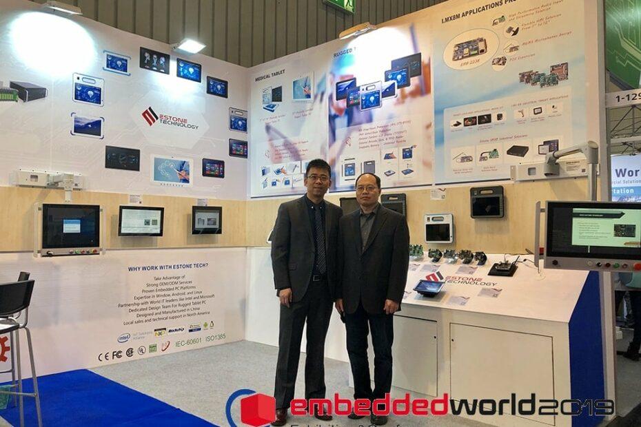 Estone at Embedded World 2019