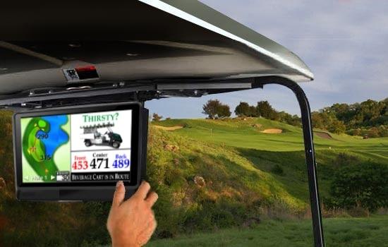 Golf Cart Tablet