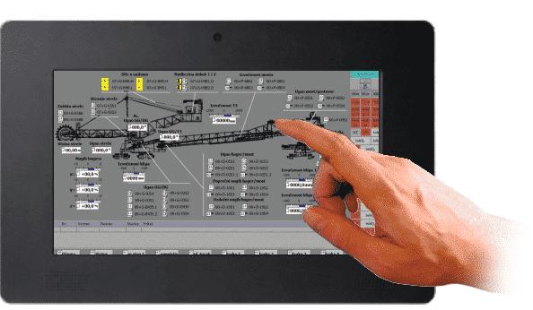 HMI Touchscreen