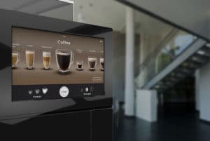 Rugged Panel PC in a Coffee Vending Machine