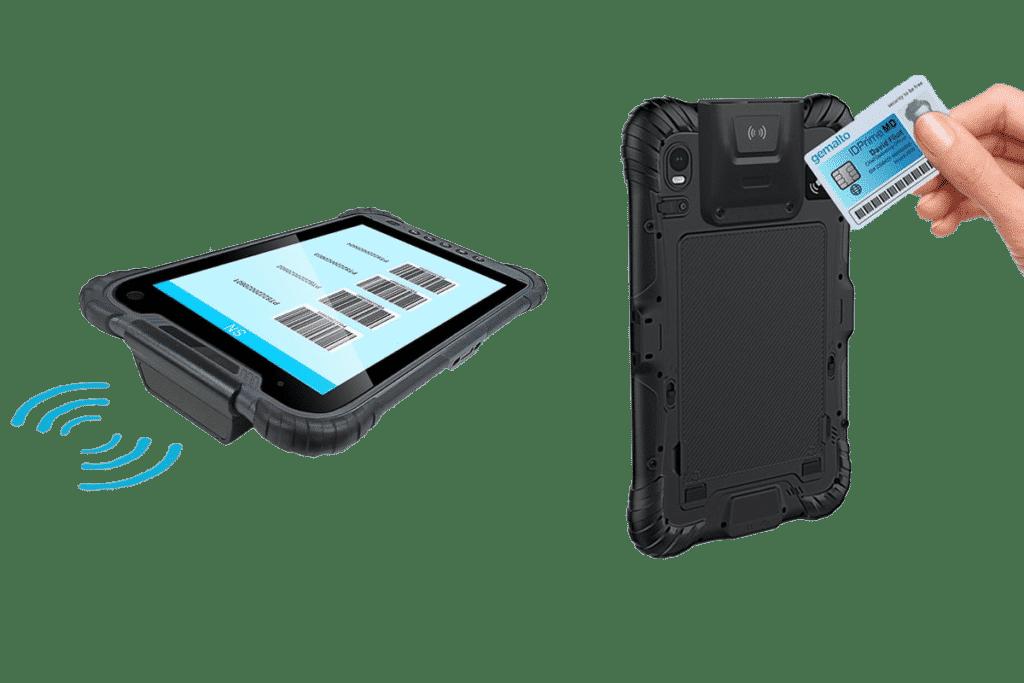 Tablet RFID Reader