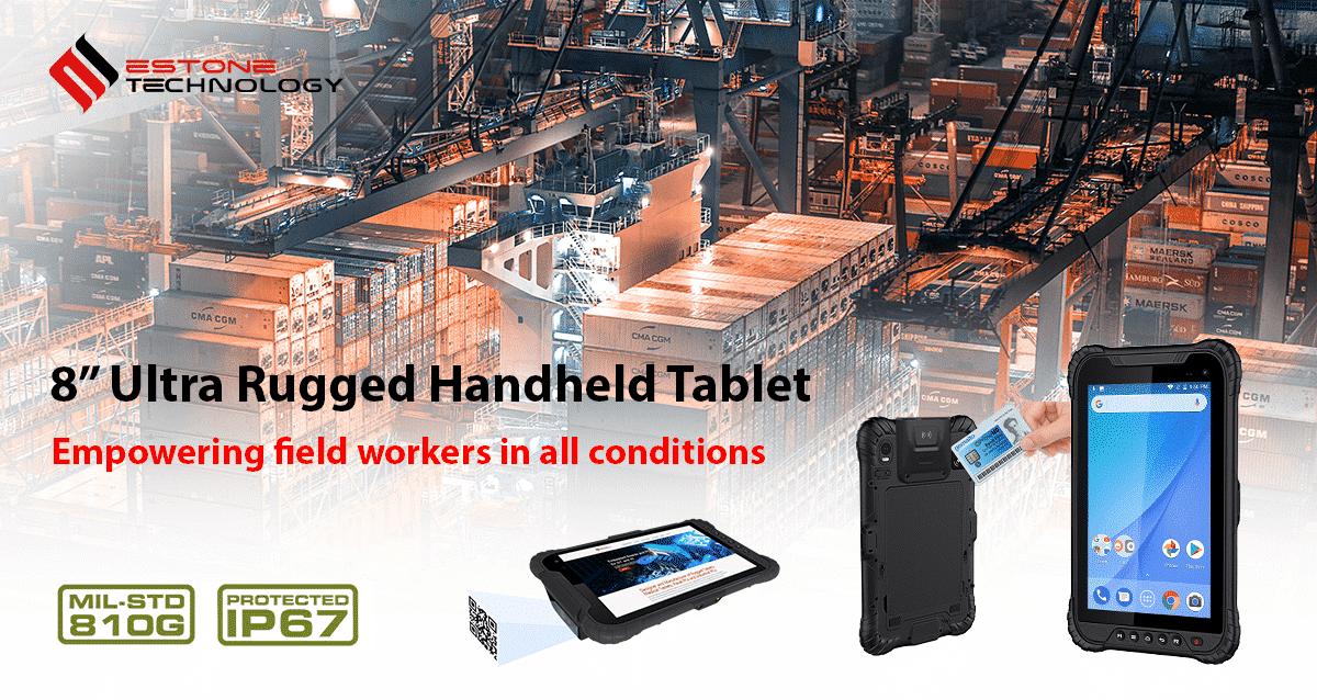 "8"" Ultra Rugged Handheld Tablet"