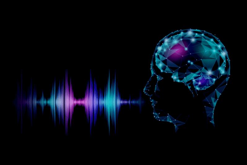 AI digitizing audio sounds for voice control