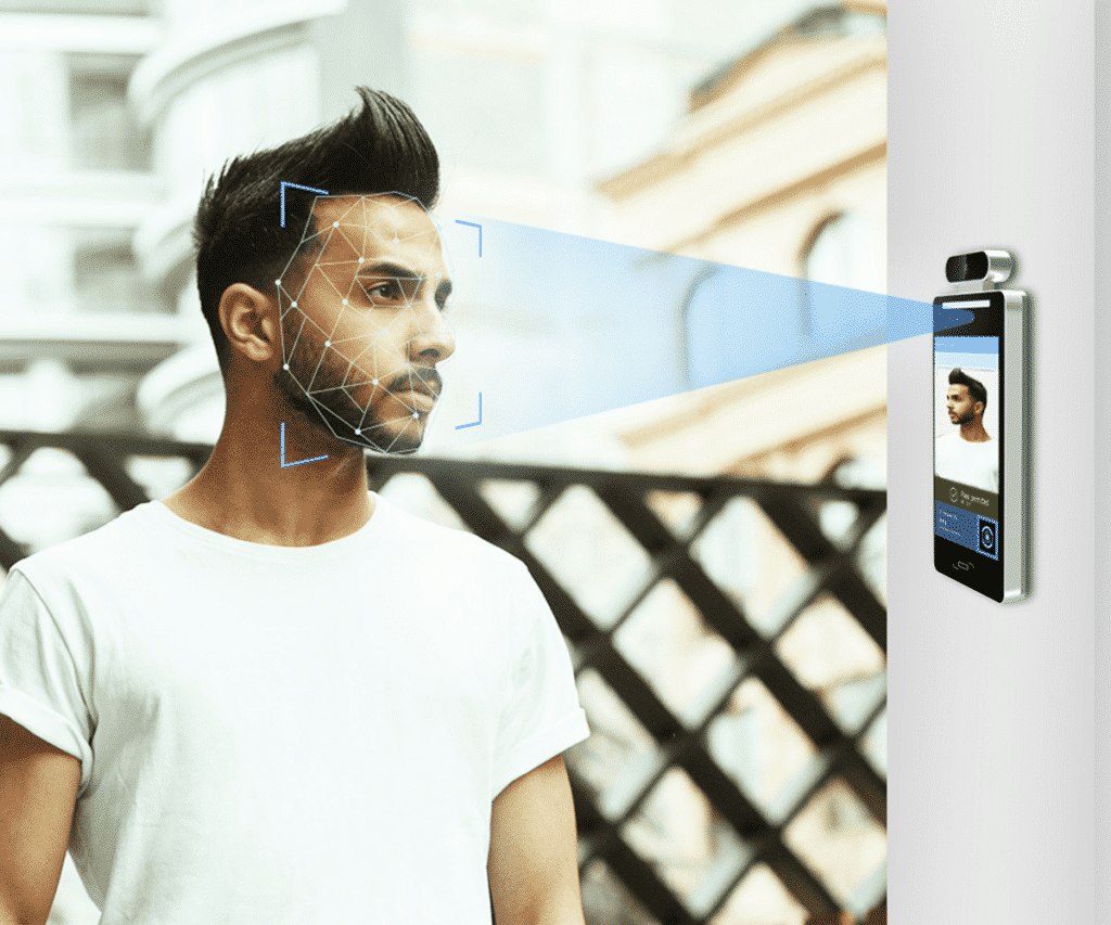 FSAC-80 using face recognition for access control features
