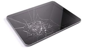 Broken Consumer Tablet Screen
