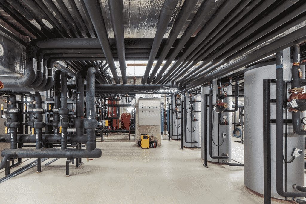 Industrial control systems running through automation