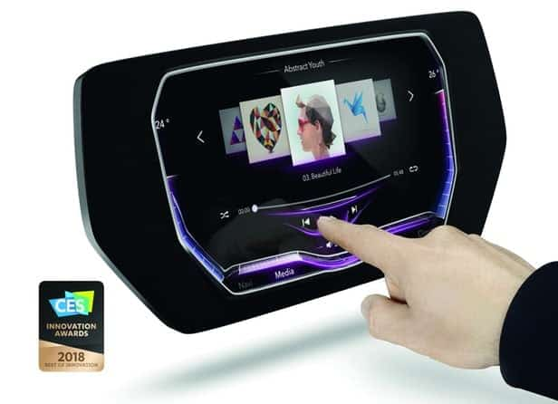 3D Molded Touchscreens