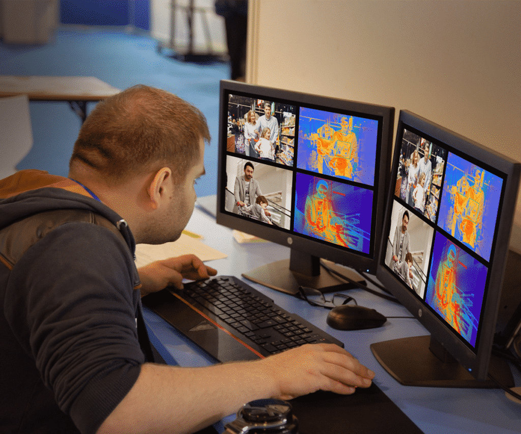 Custom software to allow monitoring of multiple devices at a time