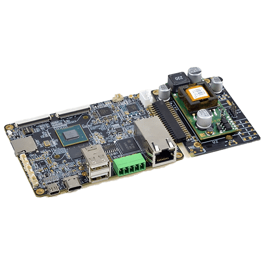 emb-2238 nxp i.mx8m cortex-a53 processor with power over ethernet POE arm embedded computer