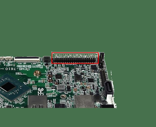 ODM Embedded Board | EMB-7610 – 40-pin RPI