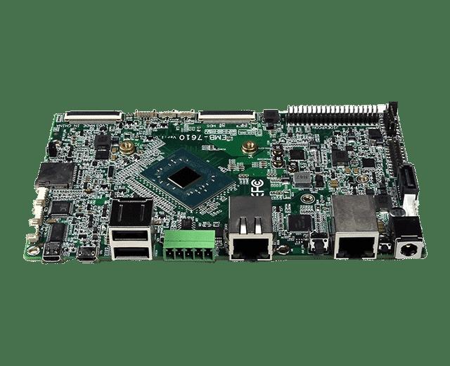 Intel Apollo Lake N3450 SBC   EMB-7610 - Dual NIC