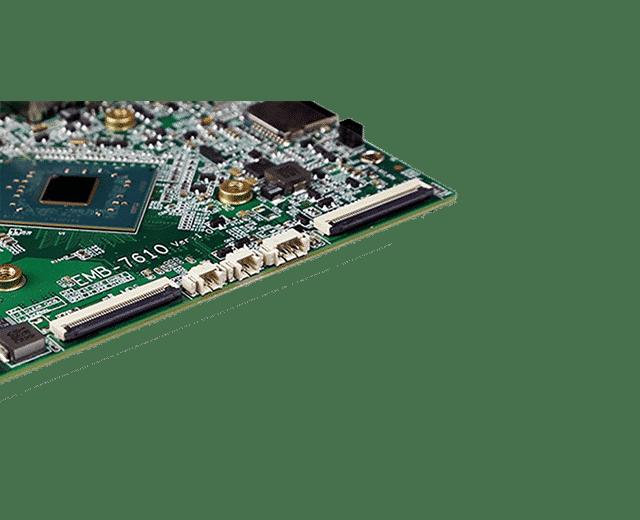 Intel Apollo Lake N3450 SBC   EMB-7610 - Slim