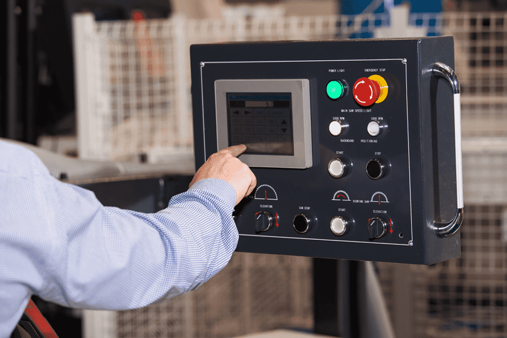 Human machine interface controller in a manufacturing environment