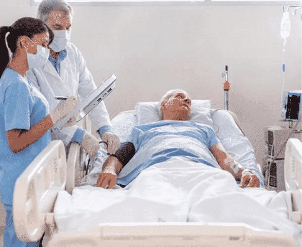 Medical Tablet Patient Care