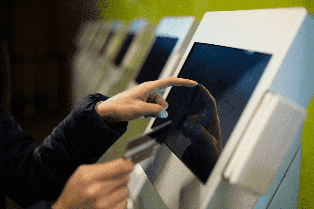 Self service kiosk for purchasing using embedded pc solutions