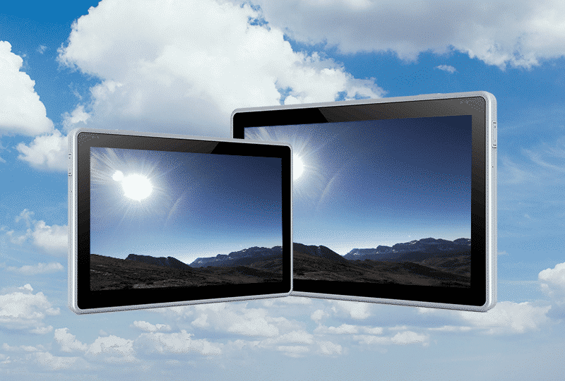 Bright LCDs that can be read in the sunlight