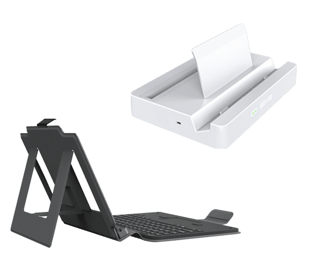 Drop-In Tablet Docking Station Medical with USB and Network and Keyboard