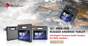 """MDA-100 10"""" Rugged Android Tablet"""