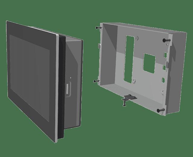 Drop-In Wall-Mount Frameless Panel PC - Wall Mount Kit