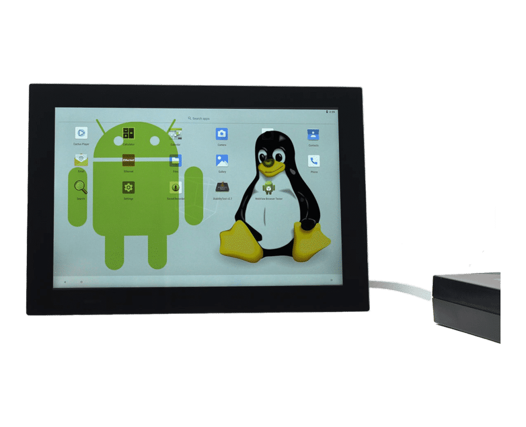 """10"""" PoE Panel PC Linux and Android - i.MX8M"""
