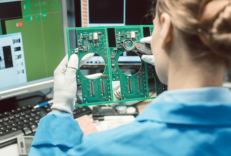 Engineer inspection computer components