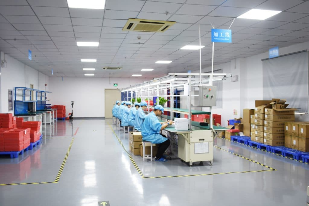 Estone Technology Reasearch and Development Manufacturing Facility in Shenzhen China