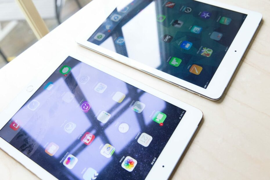 Consumer Tablet Glare