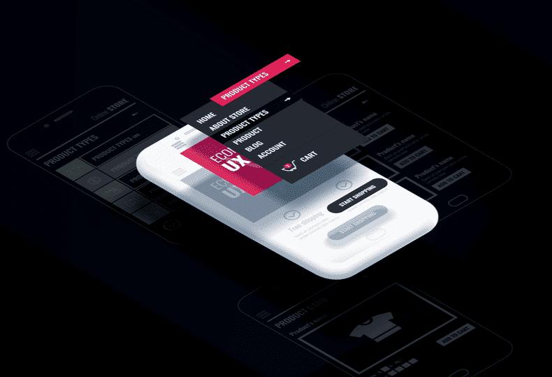 Break away of ux design for app
