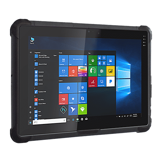 UR-100 Ultra Rugged Tablet windows 10 ip67 touch screen lte