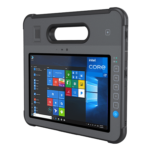 MD-100K ruggedized Windows 10 industrial tablet pc oem