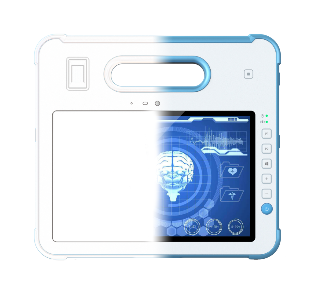 Medical grade tablet PC ODM from wireframe design stage to manufacturing stage