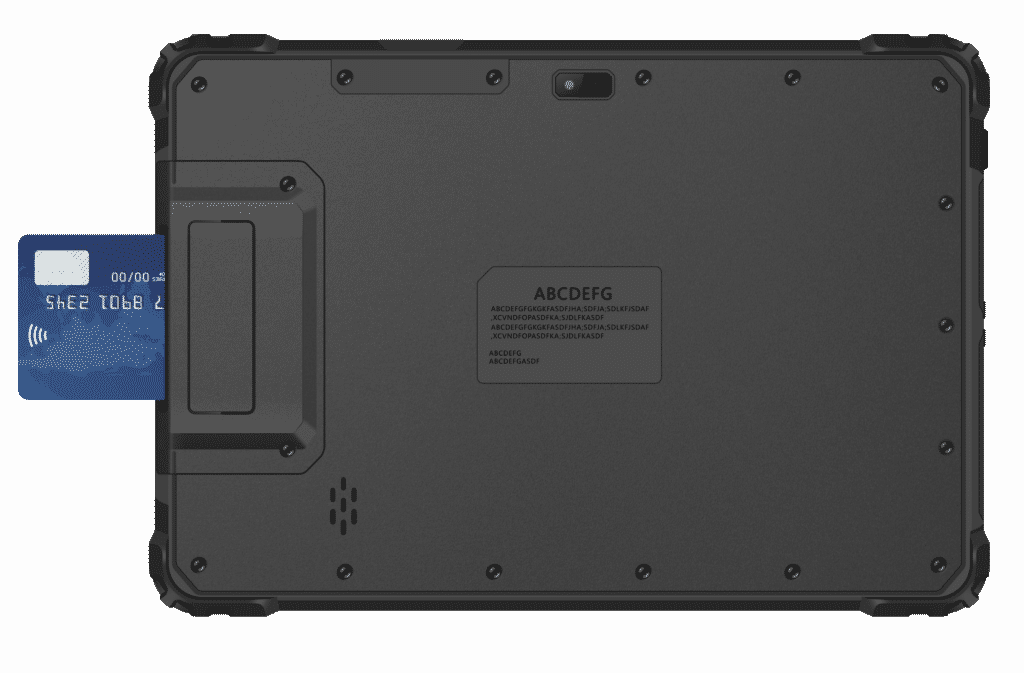 MS-100A with Smart Card expansion module attached